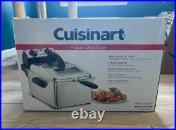 Cuisinart CDF-200P1 Deep Fryer, 4 Quart, Stainless Steel brand new