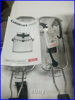 Cuisinart CDF-230 4 Quart Digital Deep Fryer Stainless