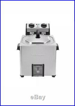 Cuisinart CDF-500 Extra-Large Rotisserie Deep Fryer & Steamer, Stainless Steel