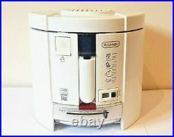 De'Longhi F26237. W1 Deep Fryer with Total Clean System White