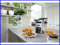 DeLonghi Livenza Stainless Steel Deep Fryer with Easy Clean Drain System