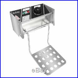 Deep Fryer 12.7QT/12L Double Cylinder Electric Fryer with Basket Filters US Plug