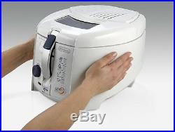 Deep Fryer Delonghi F28311 1.2 liters Rotary Basket Easy Clean System Genuine