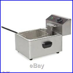 Deep Fryer Electric Cooking Restaurant Catering Commercial Kitchen Equipment New