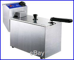 Deep fryer commercial professional electric oil volume 4liter 1.7Kw french fries