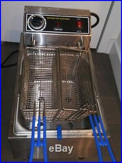 Deep fryer electric commercial new