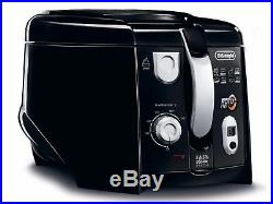 Delonghi F28313BK RotoFry Deep Fryer with 1kg Food Capacity Black