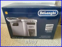 Delonghi Livenza Dual Zone Digital 4.5L Stainless Steel Deep Fryer with Easy Clean