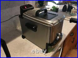 EMERIL BY TFAL DEEP FRYER OIL FILTERING MODEL SERIE F36-C1 great CONDITION