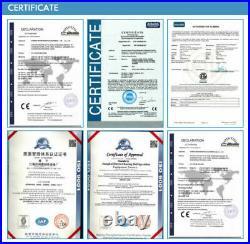 ETL Certified Electric Countertop Deep Fryer Stainless Steel Single Basket 5.5L