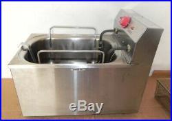 Eagle Group Ef10-120 Electric Deep Fryer Counter Top Restaurant 15 Lb Redhots