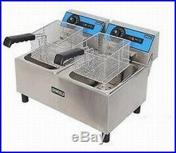 Electric Countertop Fryer- Uniworld Electric Fryer UEF-102-Commercial Deep Fryer