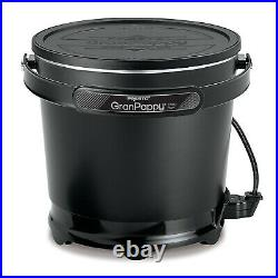 Electric Deep Fat Fryer Chicken Fries Easy Temperature Control Small Counter Top