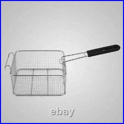 Electric Deep Fryer Basket Chip Cooker Stainless Steel Kitchen Commercial Fryer