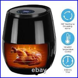 Electric Deep Fryer Oven No Oil Air Fryer 3.6L Digital Touch Screen TimerControl