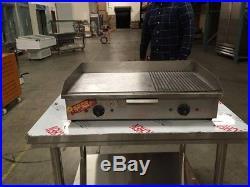 Electric Griddle Countertop Electric Deep Fryer broiler RESTAURANT EQUIPMENT