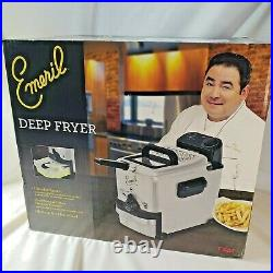 Emeril Stainless Deep Fryer New in opened box never used
