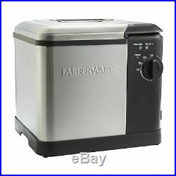 Fryer Large Capacity Deep Fryer Stainless Steel Electric Steamer Boiler Cooks Up