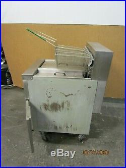 Frymaster Fph7 Fph114 36x24x30-1/2 2 Bank 3 Basket Electric Deep Fryer 208v