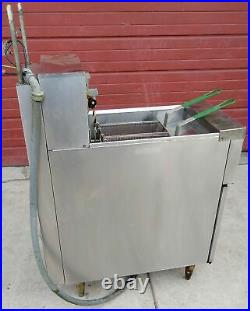 Frymaster H17blsc 3 Phase Electric 41.2amps Deep Fryer Cart Free Shipping