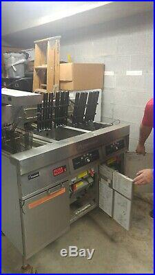 Frymaster double electric commercial deep fryer