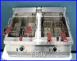GARLAND, Dual Electric Deep Fryer Counter top