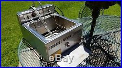 GE General Electric Hotpoint Commercial restaurant Deep Fryer HK31D