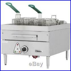 Garland E24-31F Electric Deep Fryer, 30 lb, Countertop, 12 kW