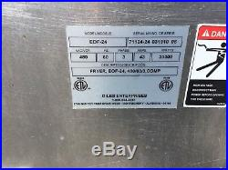Giles 3 Bay Electric Deep Commercial Deep Fryer withDump Station EOF-10-10 Combo 2