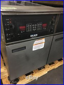 Giles 3 Bay Electric Deep Commercial Deep Fryer withDump Station EOF1010 Combo 3