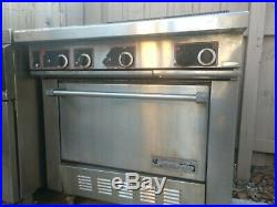 Giles Deep Fryer-720 and Garland electric oven