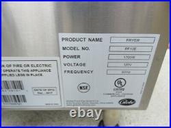 Globe commercial deep fryer pf10e 10lb electric countertop fryer