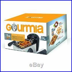 Gourmia GDF300 Compact Restaurant Stainless Steel Deep Fryer, 12 Cups 1 Basket