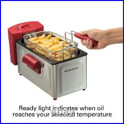Hamilton Beach 2 Liter Professional Deep Fryer Model# 35326