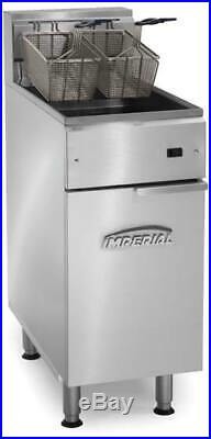 Imperial Commercial Electric IFS-40E Deep Fryer, 40lb, 240V/ 3PH
