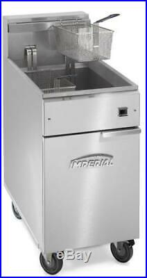 Imperial Commercial Electric IFS-75E Deep Fryer, 75lb, 208V/ 3PH