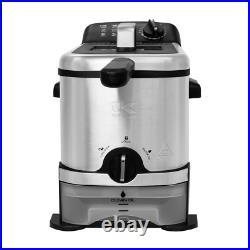 Kalorik 3.2 qt. Stainless Steel Filtration Deep Fryer