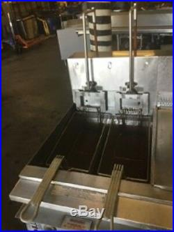 Keating Double Bay Deep Fryer with Dump and Filtration Single Phase