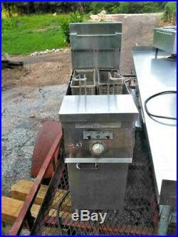 Keating Of Chicago Floor Standing Electric Deep Fryer
