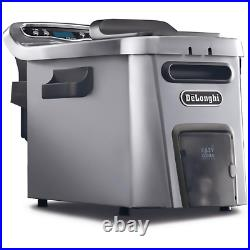 Livenza Dual Zone Digital 4.5L Stainless Steel Deep Fryer With Easy Clean Drain