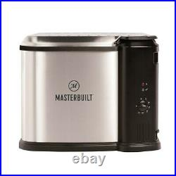 Masterbuilt Butterball XL Electric Deep Fryer Boiler Steamer, 10L (Used)