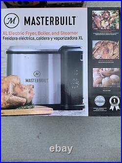 Masterbuilt Butterball XL Electric Turkey Chicken Deep Fryer Boiler Steamer 10L