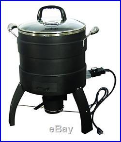 Masterbuilt MB23010809 Oil Free Roaster Electric Fryer, Black