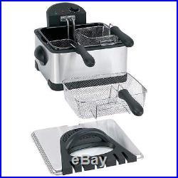 Maxam 4qt Electric Deep Fryer Small Kitchen Restaurant Catering Equipment New