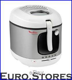Moulinex AM4800 Mega Deep Fryer 2kg White / Stainless Steel Genuine New