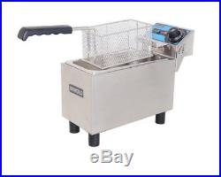 NEW 1 Basket Counter Top Deep Fryer Electric UNIWORLD UEF-061L #3870 Commercial