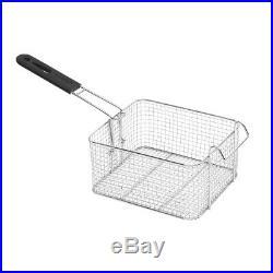 NEW 1500W 11.8L Electric Deep Fryer Commercial Tabletop Restaurant Fry Basket US
