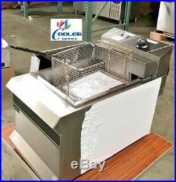 NEW 2.5 Gallon Electric Deep Fryer Counter Top Model FY11 Single Basket 220V