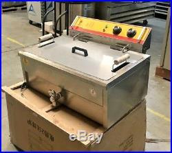 NEW 25L Electric Deep Fryer Counter Top Model FY25 Large Wide Basket 220V