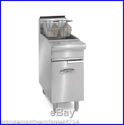 NEW 75 LB Electric Deep Fryer Stainless Steel Imperial IFS-75E #4569 Commercial